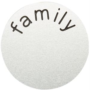 Picture of 'Family' Large Silver Coin